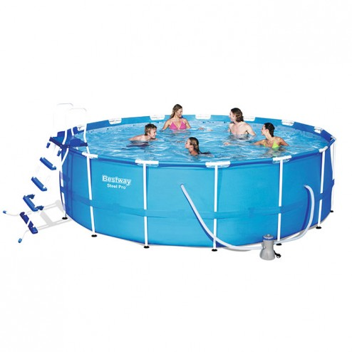 Deluxe Splash Frame Pool Set