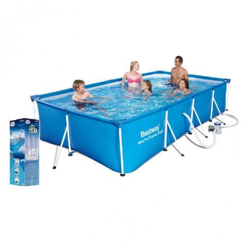 Deluxe Splash Frame Pool Set