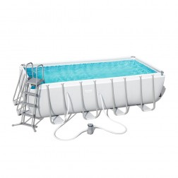 Power Steel Rectangular Pool 488 x 244 x 122cm