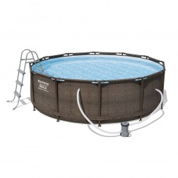 Steel Frame Pool Set 366 x 100 cm