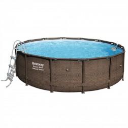 Power Steel Frame Deluxe Pool 427 x 107cm