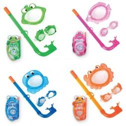 Schwimmset Kinder (Maske, Schnorchel & Schwimmbrille)