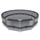Visualisierung Steel Frame Pool Set 366 x 122 cm