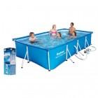 Splash Frame Pool Set 400 x 211 x 81 cm